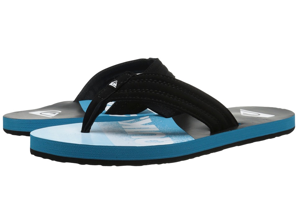 Quiksilver - Basis (Black/Blue/Blue) Men's Sandals