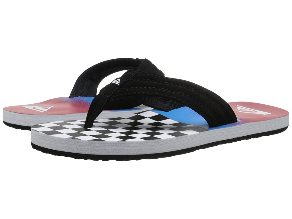 Quiksilver - Basis (Black/Blue/Red) Men's Sandals