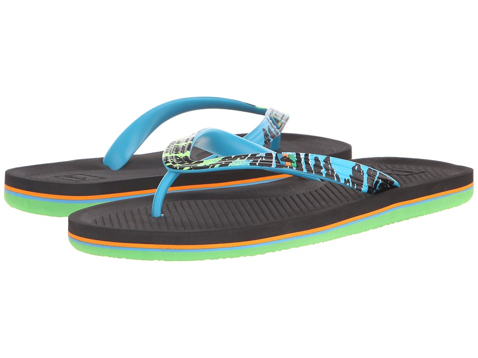 Quiksilver - Haleiwa Print (Blue/Black/Blue) Men's Sandals