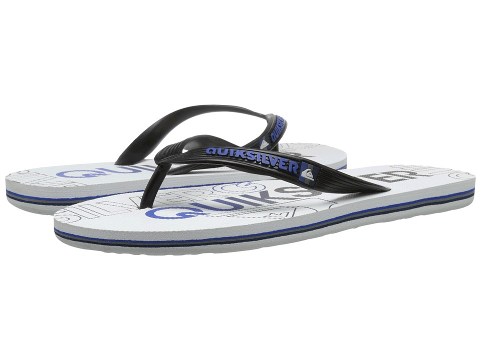 Quiksilver - Molokai Nitro (Black/White/Grey) Men's Sandals