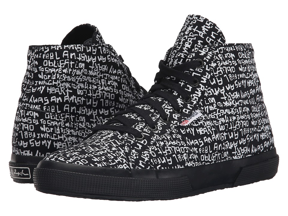 Superga - 2095 Fancotu (Grafitti Black/White) Lace up casual Shoes
