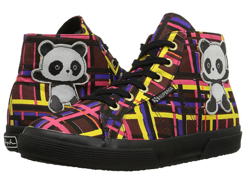 Superga - 2095 Fancotsuew (Panda Multi Tartan) Women