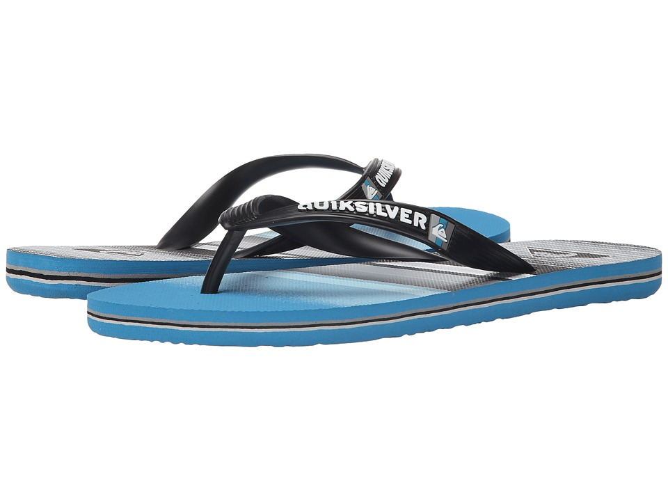 Quiksilver - Molokai Everyday Stripe (Black/Blue/Grey) Men