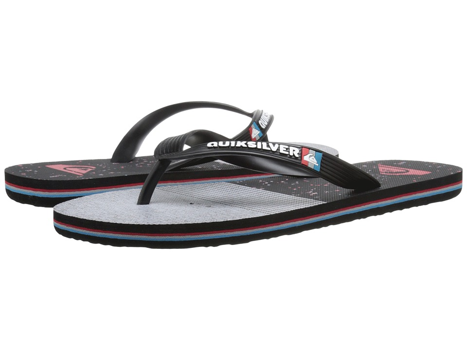 Quiksilver - Molokai AG47 Remix (Black/Grey/Black) Men's Sandals