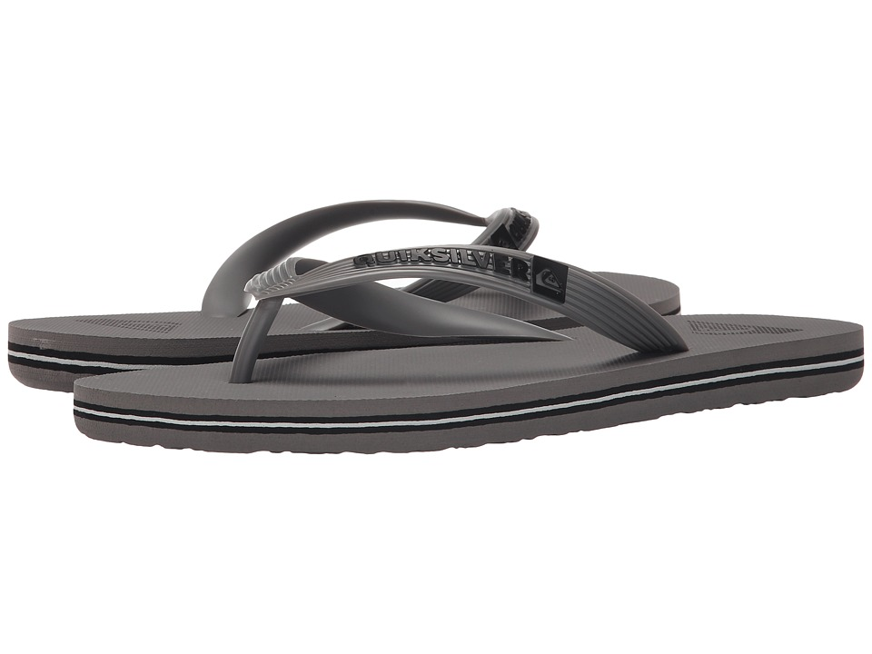 Quiksilver - Molokai (Grey/Grey/Grey) Men's Sandals