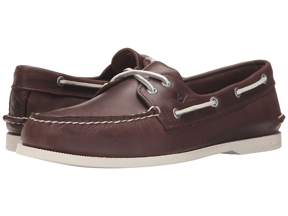 Sperry - A/O 2-Eye Sarape (Brown) Men's Lace up casual Shoes
