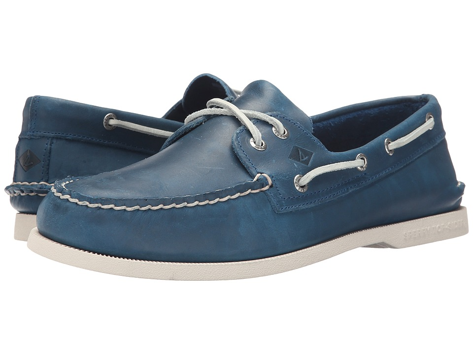 Sperry - A/O 2-Eye Sarape (Blue) Men's Lace up casual Shoes