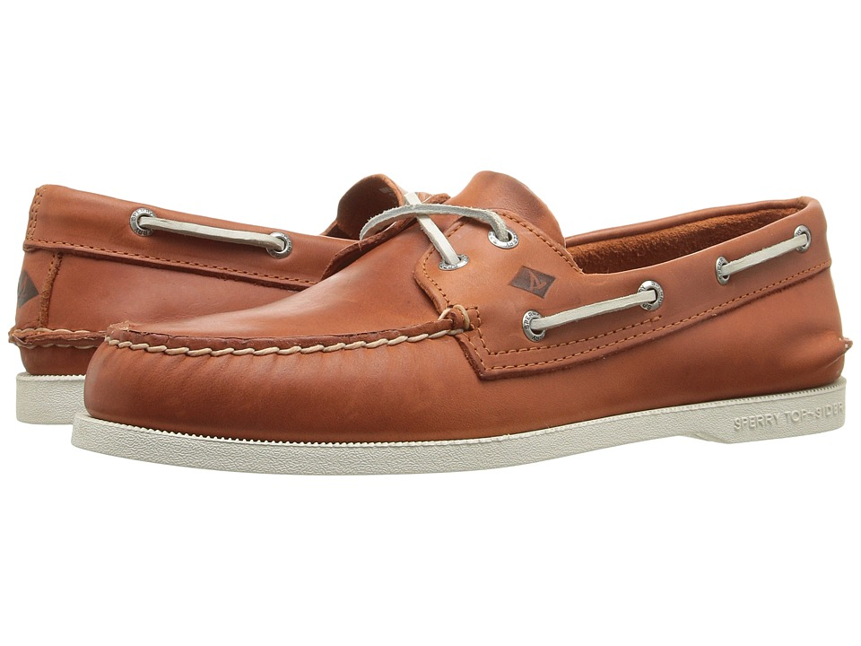 Sperry Top-Sider - A/O 2-Eye Sarape (Orange) Men's Lace up casual Shoes