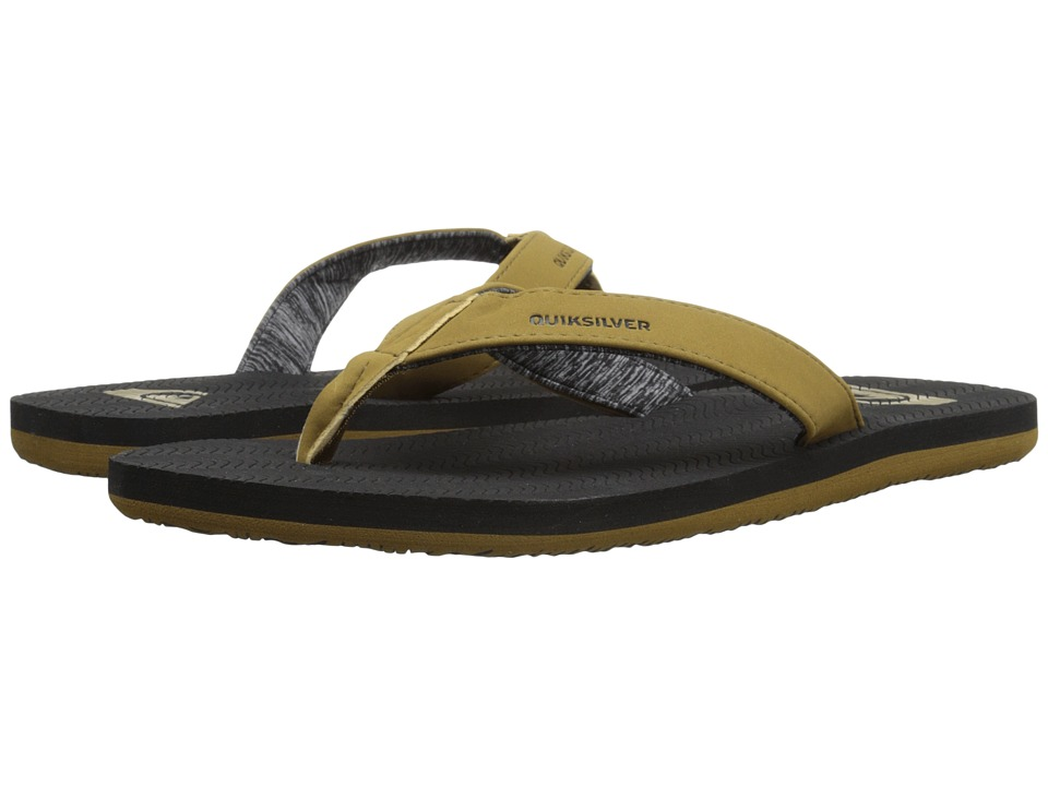 Quiksilver - Molokai Laser Grip (Tan Solid) Men's Sandals