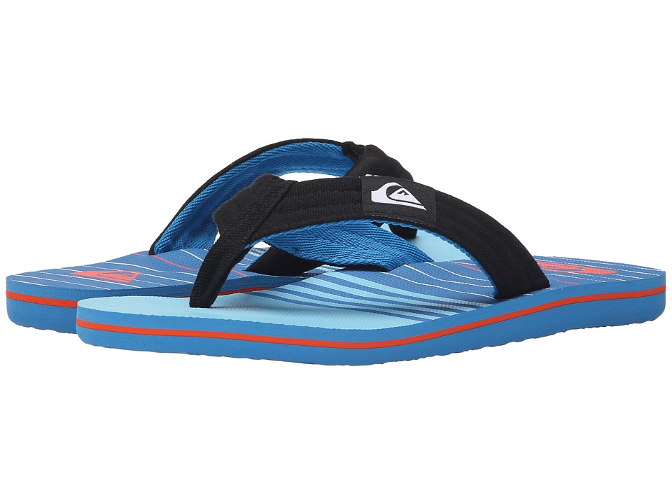 Quiksilver - Molokai Layback (Blue/Blue/Blue) Men's Sandals