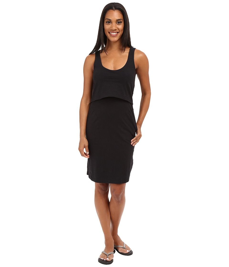 Toad&Co - Paintbrush Tank Dress (Black) Women's Dress