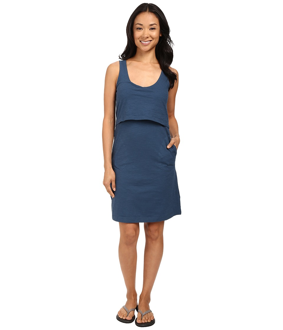 Toad&Co - Paintbrush Tank Dress (Inky Teal) Women's Dress