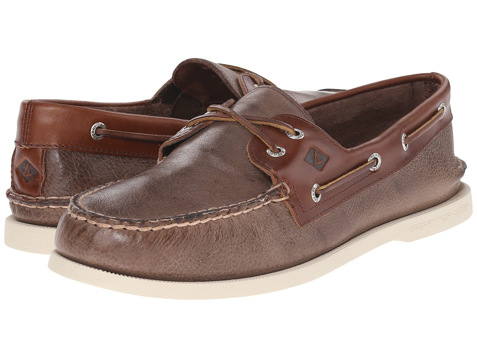 Sperry Top-Sider A/O 2-Eye Cross Lace (Brown 2) Men