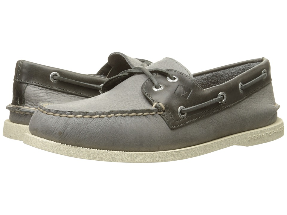 Sperry - A/O 2-Eye Cross Lace (Grey 2) Men's Lace up casual Shoes