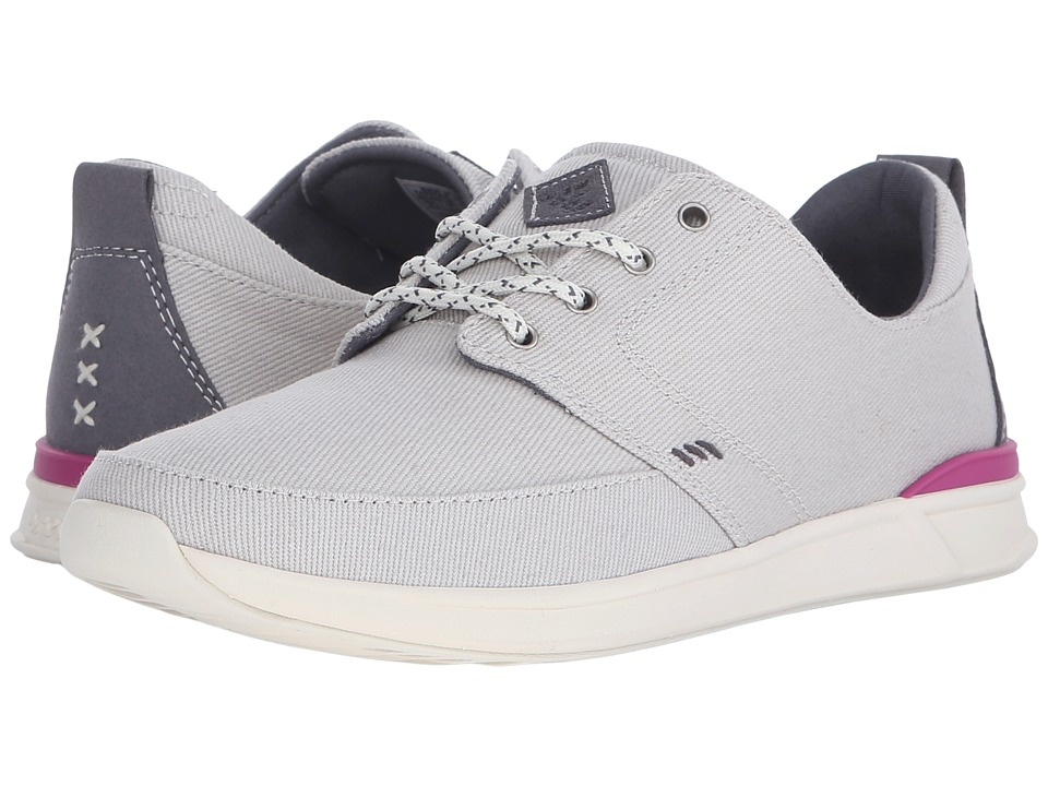 Reef - Rover Low (Grey) Women's Lace up casual Shoes