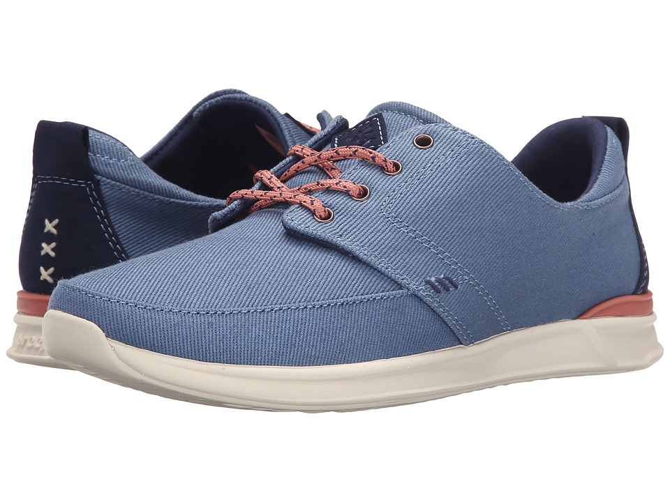 Reef - Rover Low (Light Blue) Women's Lace up casual Shoes