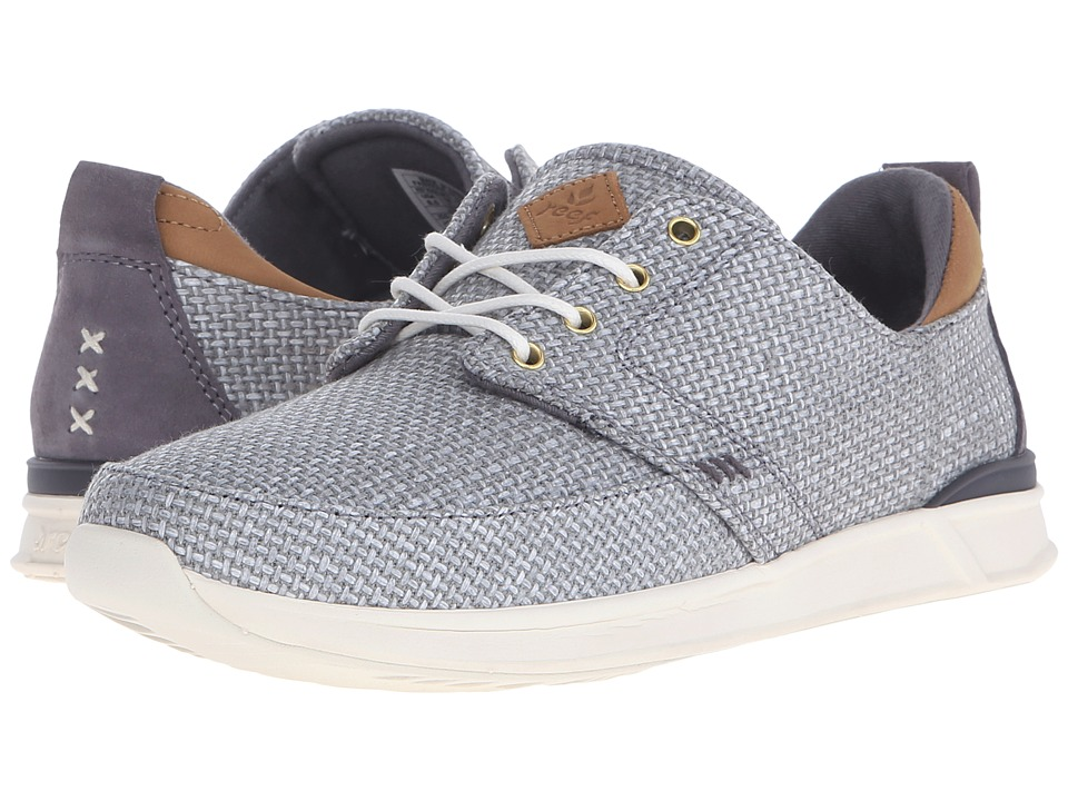 Reef - Rover Low TX (Grey) Women's Lace up casual Shoes