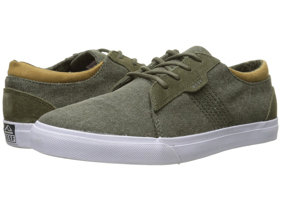 Reef - Ridge TX (Olive) Men's Lace up casual Shoes