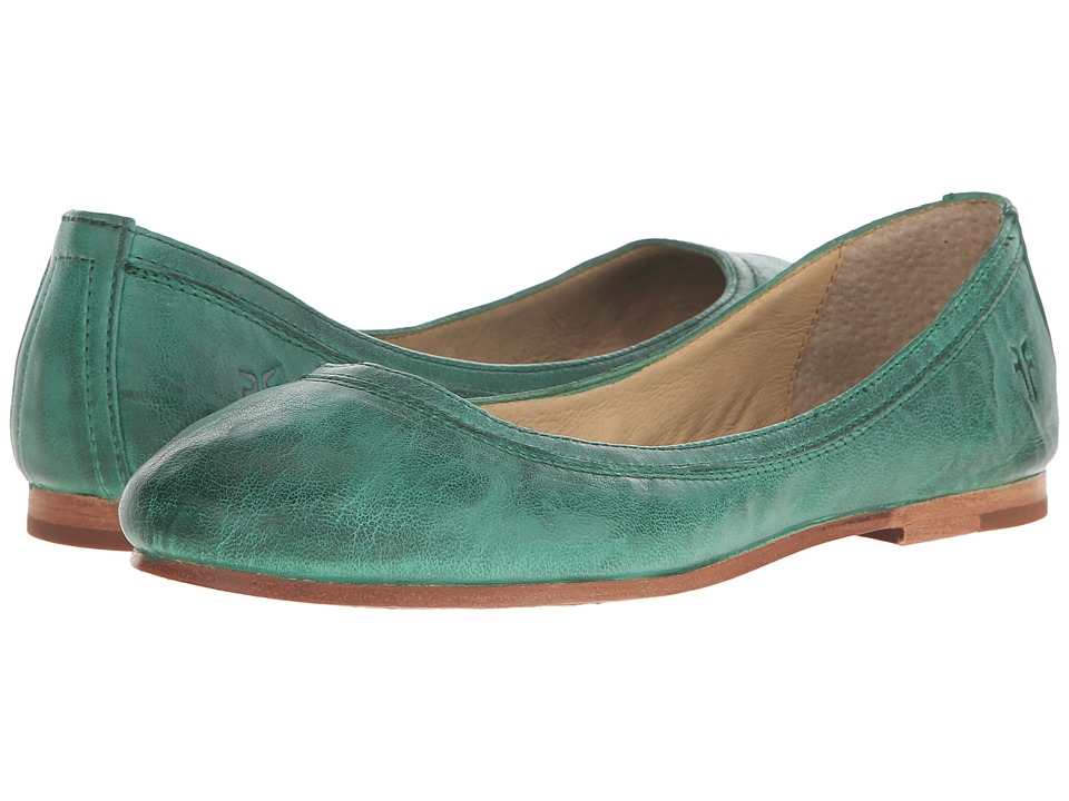 Frye - Carson Ballet (Kelly Green Antique Soft Vintage) Women's Flat Shoes