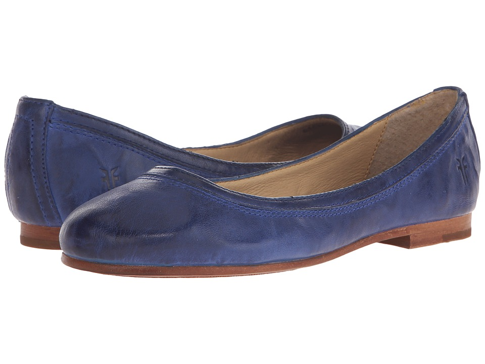 Frye - Carson Ballet (Royal Blue Antique Soft Vintage) Women's Flat Shoes