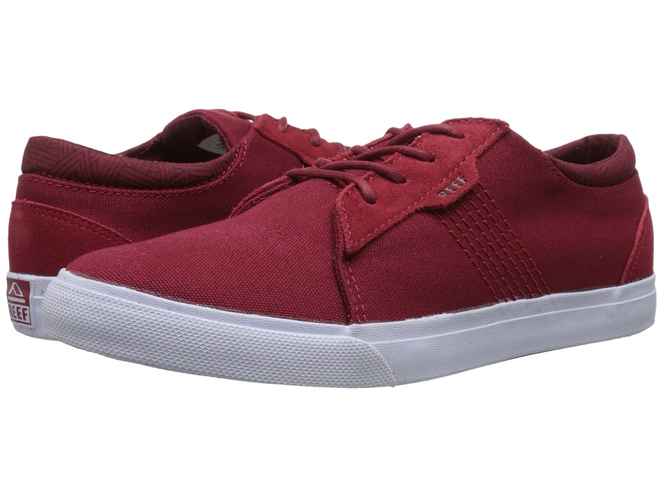 Reef - Ridge (Red/White) Men's Lace up casual Shoes