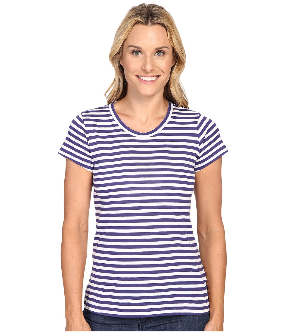 Columbia - Everyday Kenzie Crew Neck Tee (Skyward Stripe) Women