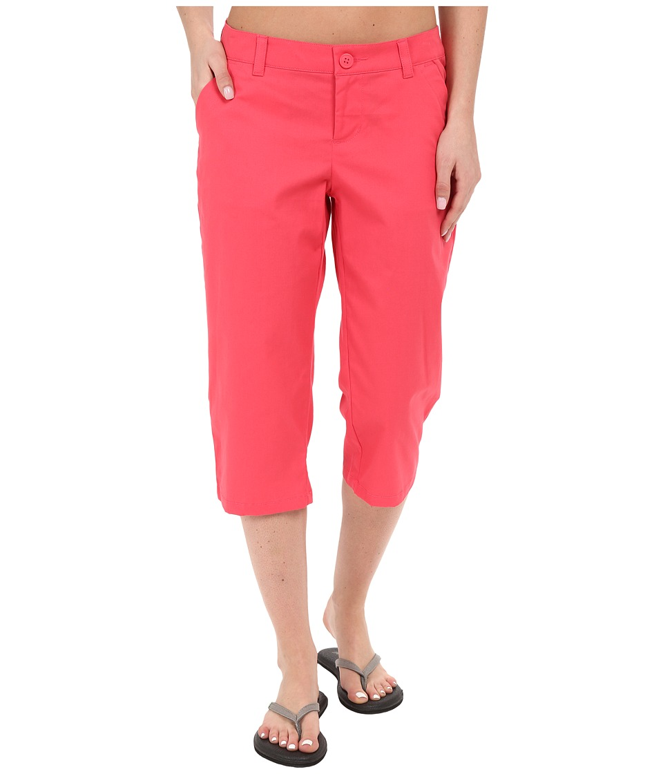 Columbia - Kenzie Cove Capri Pant (Bright Geranium) Women's Casual Pants