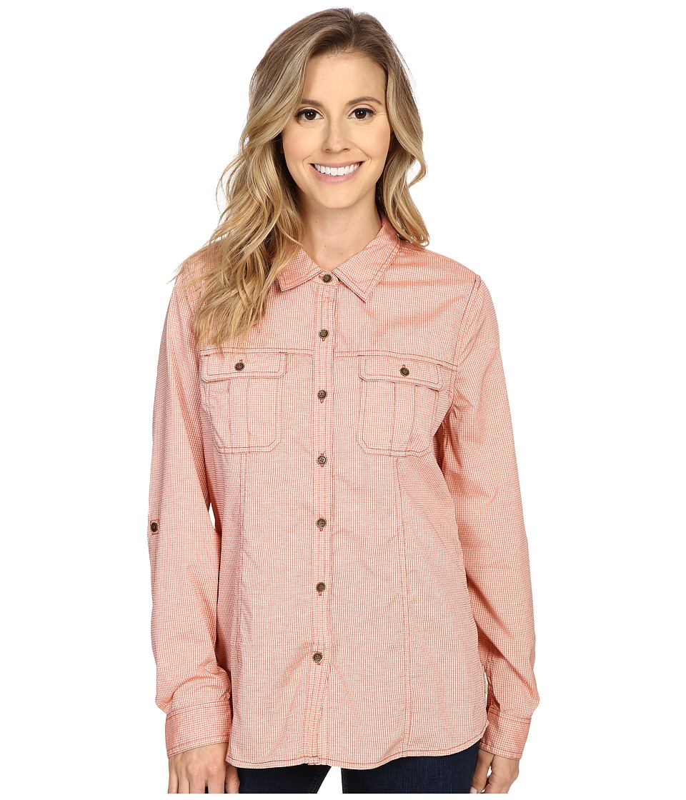 Upc 794691118464 royal robbins women 39 s diablo camp shirt for Women s long sleeve camp shirts