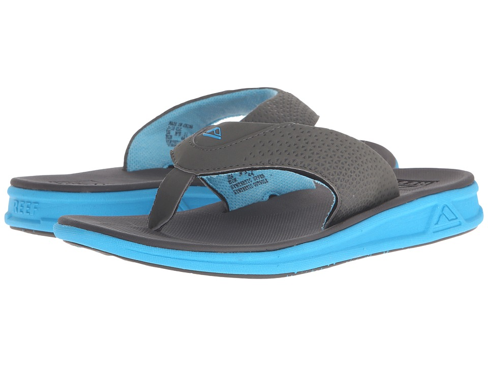 Reef - Rover (Charcoal/Blue Pop) Men