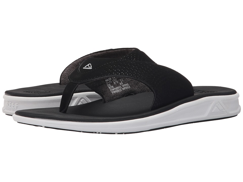 Reef - Rover (Black/White) Men's Sandals