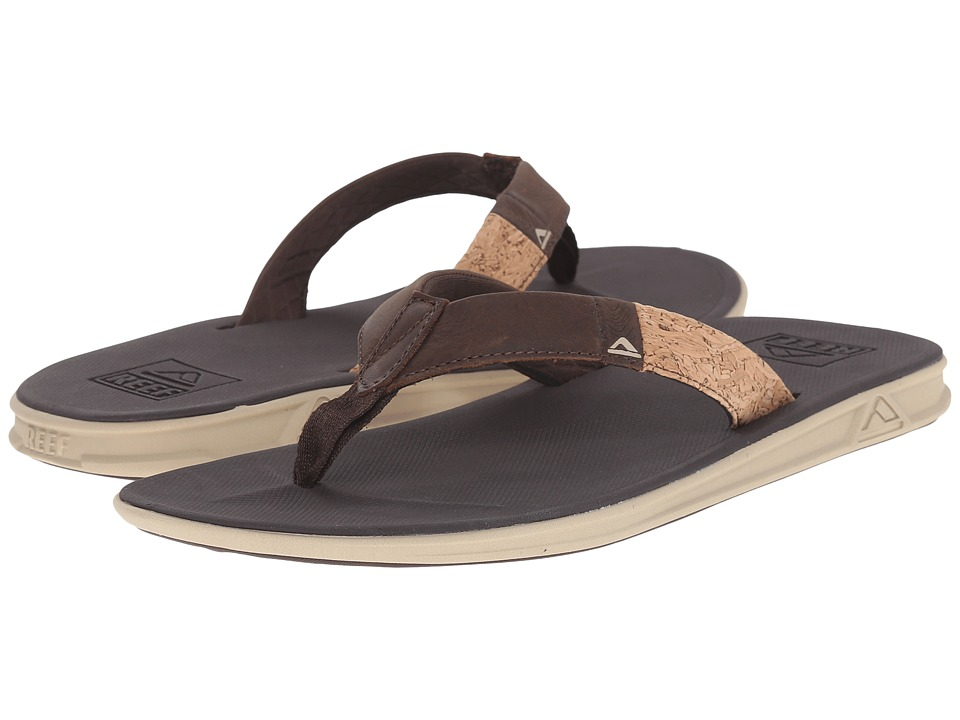 Reef - Slammed Rover LE (Brown/Cork) Men's Sandals