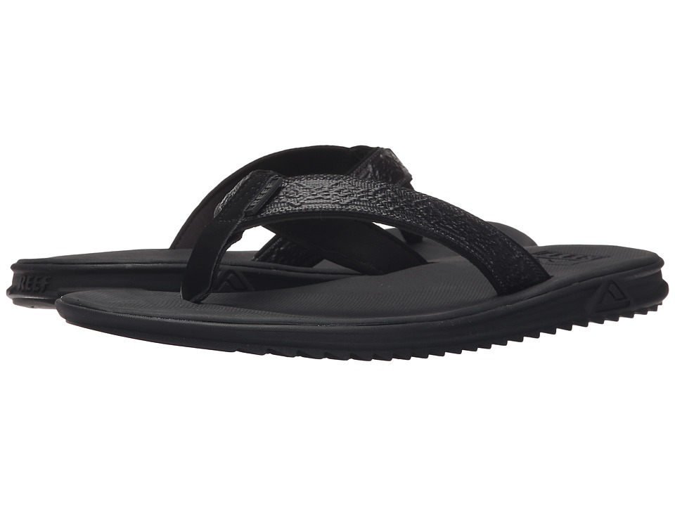 Reef - Rover XT3 (Black) Men's Sandals