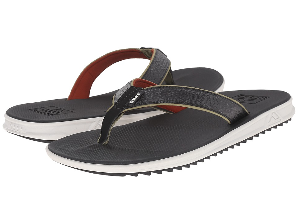 Reef - Rover XT3 (Black/Olive) Men's Sandals