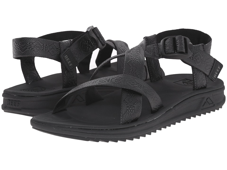Reef - Rover XT (Black) Men's Sandals