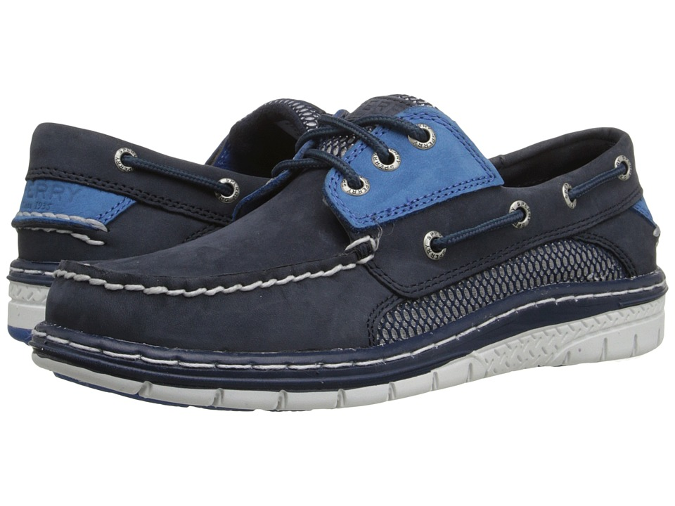 Sperry - Billfish Ultralite 3-Eye (Navy/Royal) Men's Lace up casual Shoes