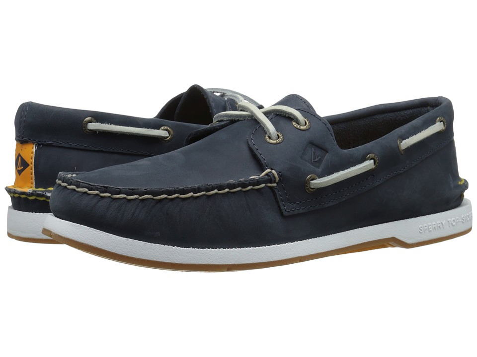 Sperry Top-Sider - Captain's A/O 2-Eye (Navy) Men's Lace up casual Shoes