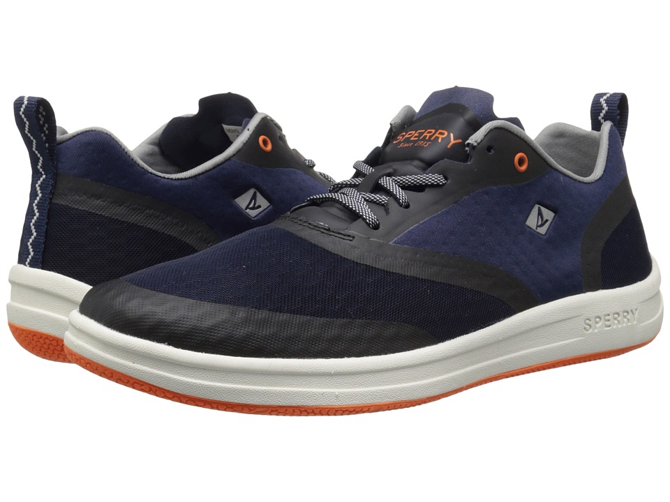 Sperry - Deck Lite (Navy/Orange) Men's Shoes