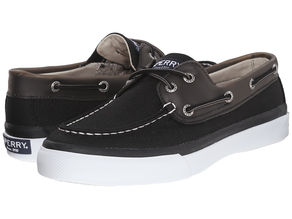 Sperry Top-Sider Bahama 2-Eye Ballistic (Black) Men