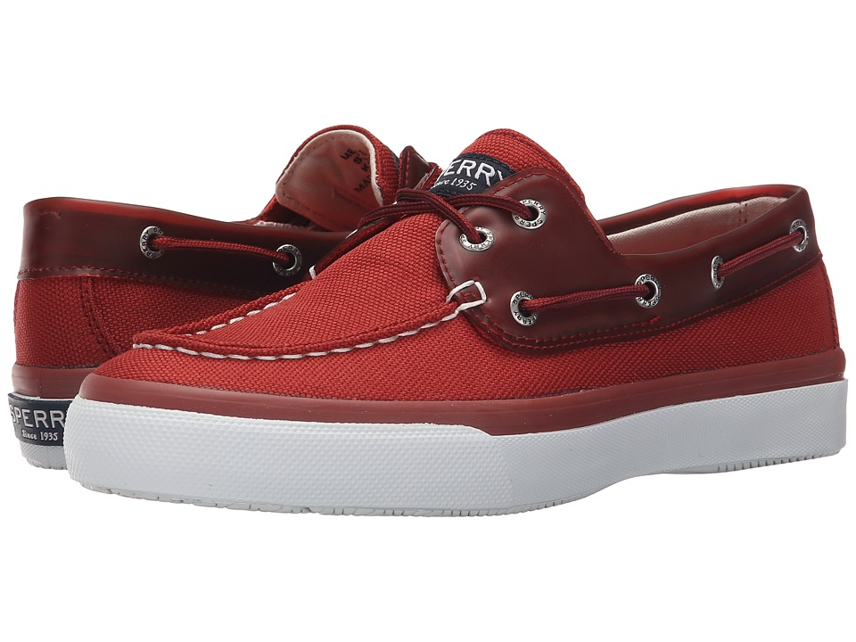Sperry Top-Sider - Bahama 2-Eye Ballistic (Red) Men's Lace up casual Shoes