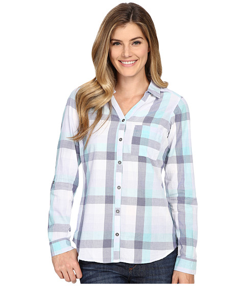 Columbia - Wild Haven Long Sleeve Shirt (Pale Purple Large Plaid) Women's Long Sleeve Button Up