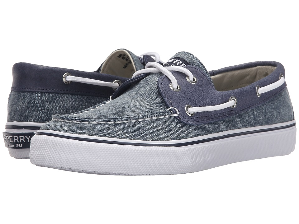 Sperry Top-Sider Bahama 2-Eye White Cap (Navy) Men