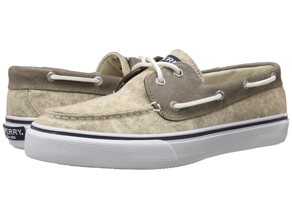 Sperry Top-Sider Bahama 2-Eye White Cap (Tan) Men