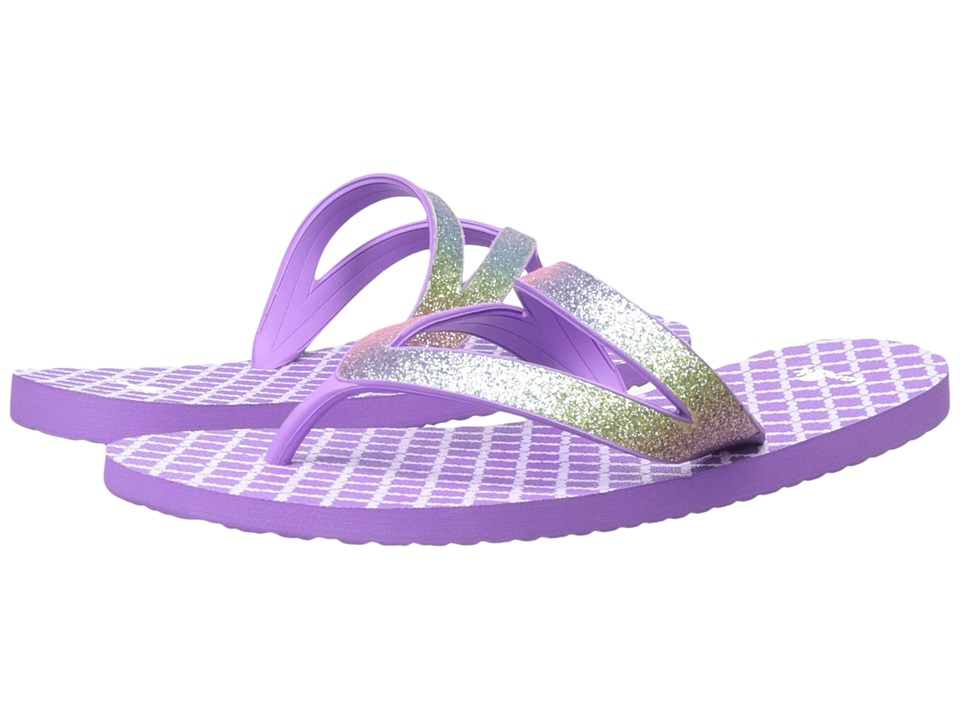 Sanuk Kids - Lil Selene Crystal (Little Kid/Big Kid) (Rainbow/Hot Orchid) Girls Shoes