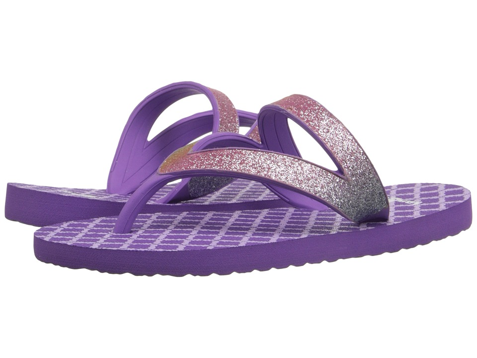 Sanuk Kids - Lil Selene Crystal (Toddler/Little Kid) (Rainbow/Hot Orchid) Girls Shoes