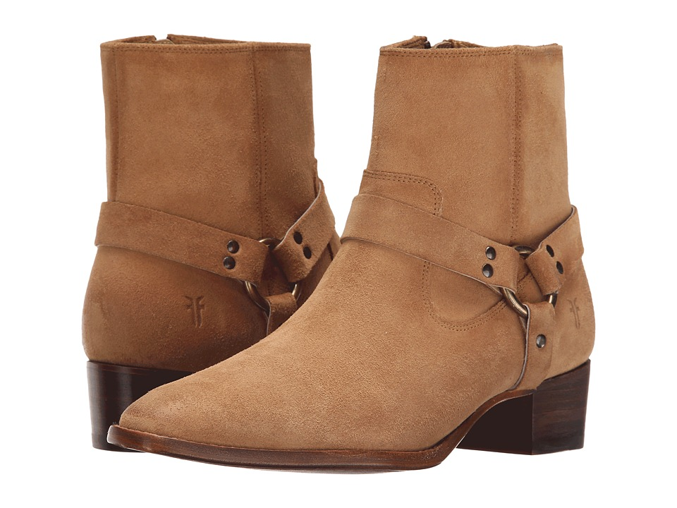 Frye Dara Harness Short (Sand Suede) Women
