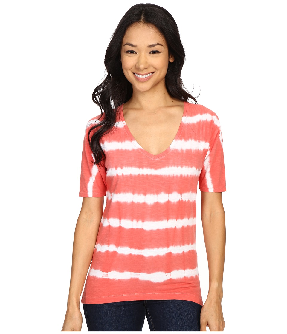 Columbia - Summer Breeze Tee (Coral Bloom) Women's T Shirt