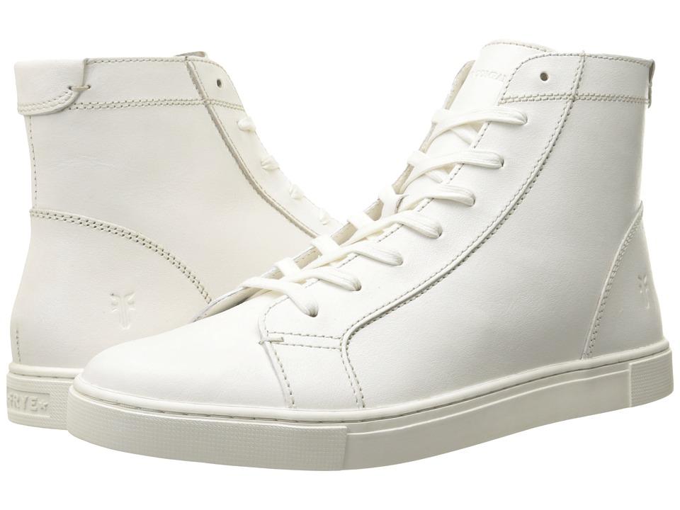 Frye - Gemma High (White Veg Tan) Women's Lace-up Boots
