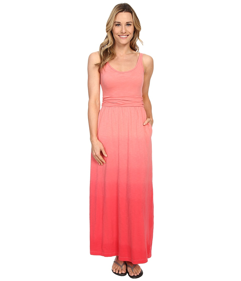 Columbia - Summer Breeze Maxi Dress (Coral Bloom) Women's Dress