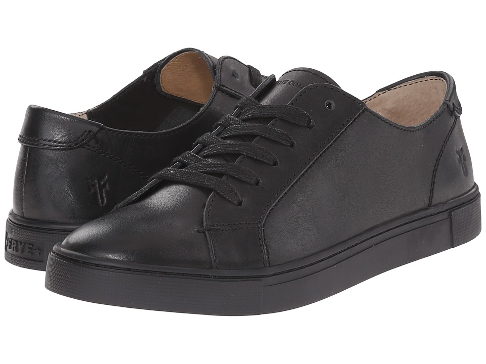 Frye - Gemma Low Lace (Black Veg Tan) Women's Lace up casual Shoes