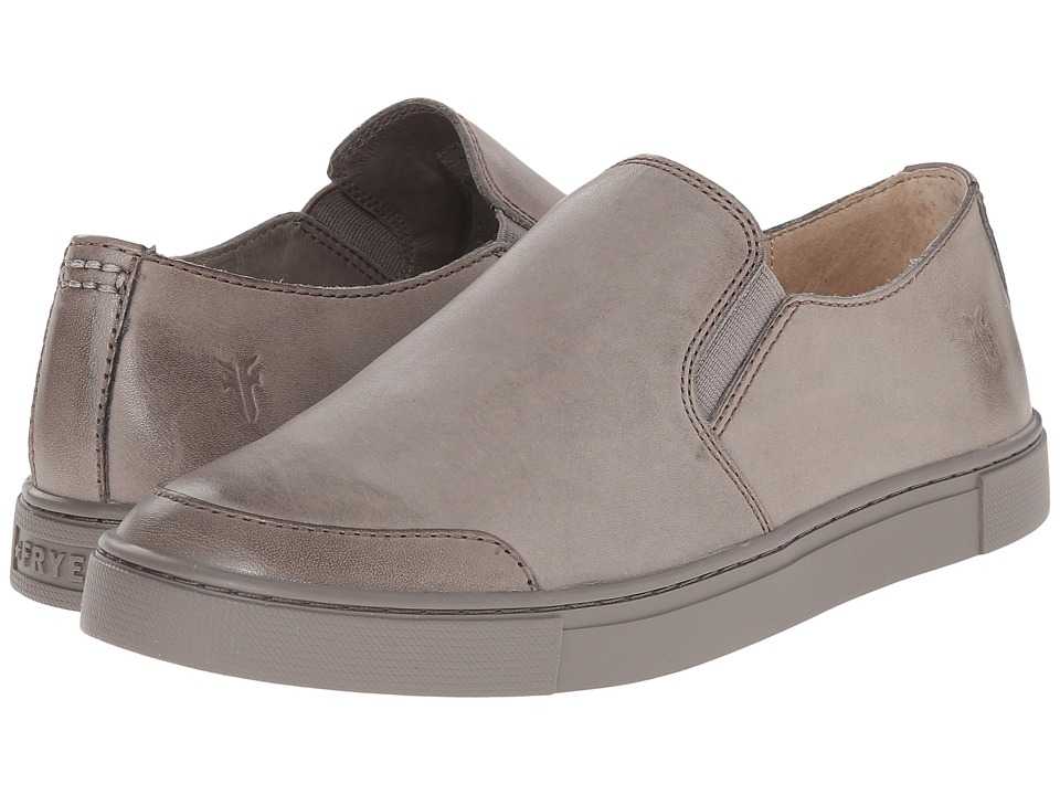 Frye Gemma Slip (Charcoal Veg Tan) Women